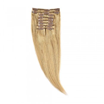 Clip-On Par Natural 30cm 80gr Blond Miere #27