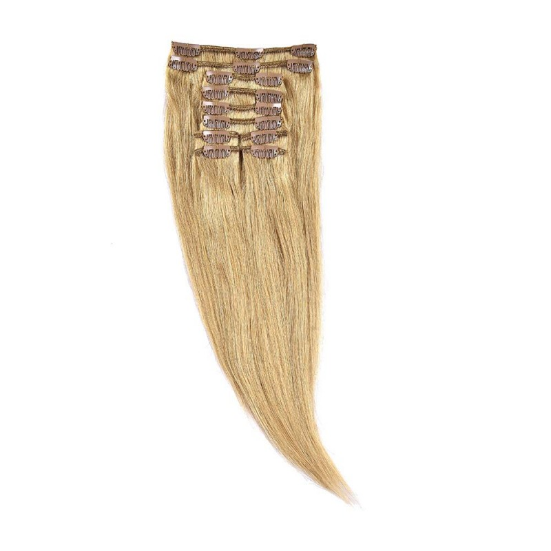Clip-On Par Natural 40cm 90gr Blond Miere #27
