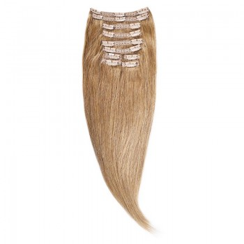 Clip-On Par Natural Volum 70cm 180gr Blond Mediu #18
