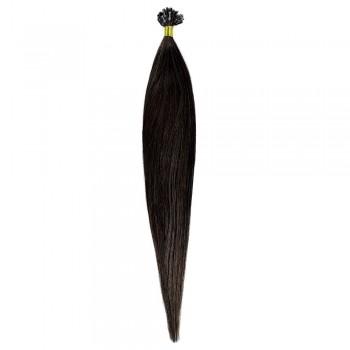 Cheratina Par Natural 50cm 50suv 1gr/suv Castaniu #2