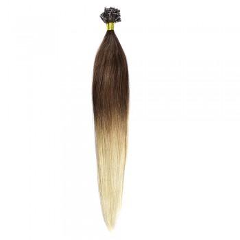 Cheratina Par Natural 60cm 50suv 1gr/suv Ombre Saten Ciocolatiu-Blond Deschis #T4/60
