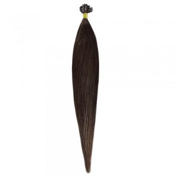 Cheratina Par Natural 50cm 50suv 1gr/suv Saten Ciocolatiu #4