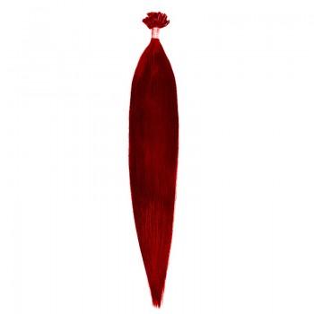 Cheratina Par Natural 50cm 50suv 1gr/suv Rosu Aprins #RED