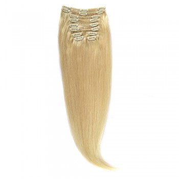 Clip-On Par Natural 60cm 100gr Blond Deschis #60