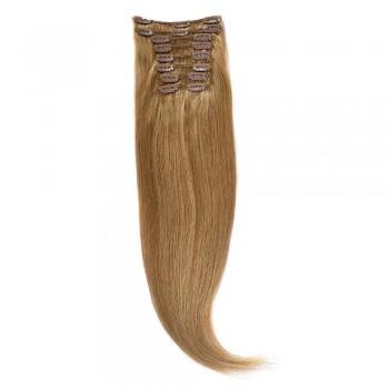 Clip-On Par Natural 60cm 100gr Blond Miere #27