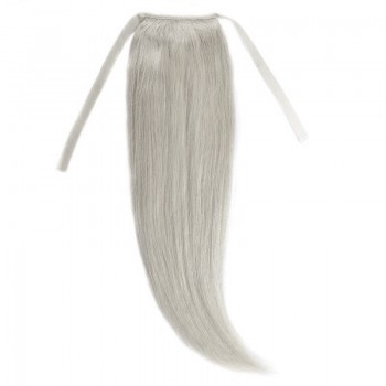 Cozi Par Natural 50cm 100gr Blond Ultra Cenusiu #LightSilver