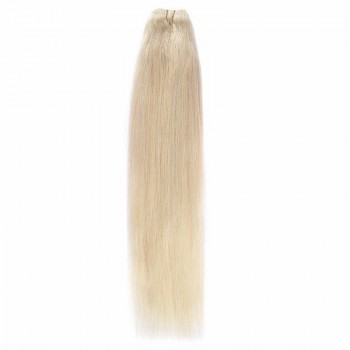 Cusute Par Natural 50cm 100gr Blond Ultra Cenusiu #LightSilver