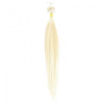 Microring Par Natural 50cm 50suv 1gr/suv Blond Alb #WhiteBlonde