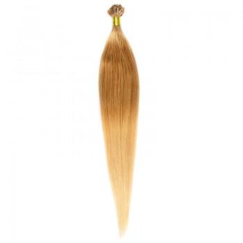 Cheratina Par Natural 50cm 50suv 1gr/suv Ombre Saten Luminos/Blond Deschis #T8/60