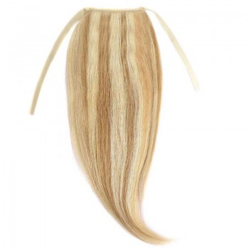 Cozi Par Natural Volum 50cm 140gr Blond Miere Suvitat/Blond Deschis #27/60
