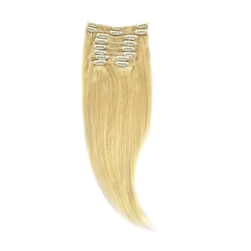 Clip-On Par Natural 40cm 90gr Blond Deschis #60