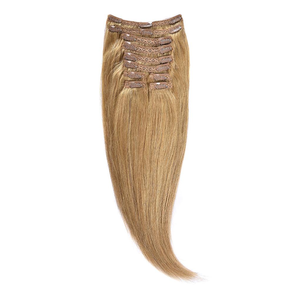 Clip-On Par Natural Volum 50cm 180gr Blond Miere #27