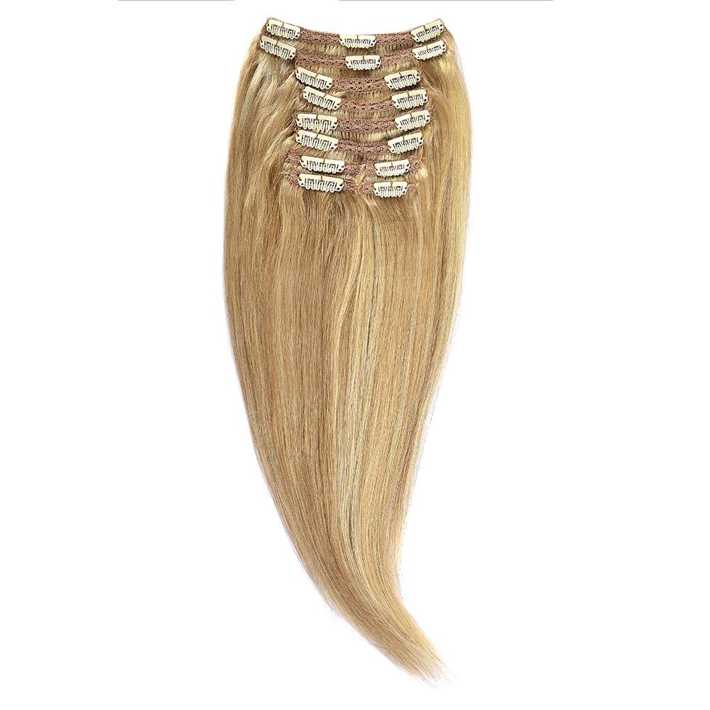 Clip-On Par Natural MegaVolum 50cm 240gr Blond Miere Suvitat/Blond Deschis #27/60