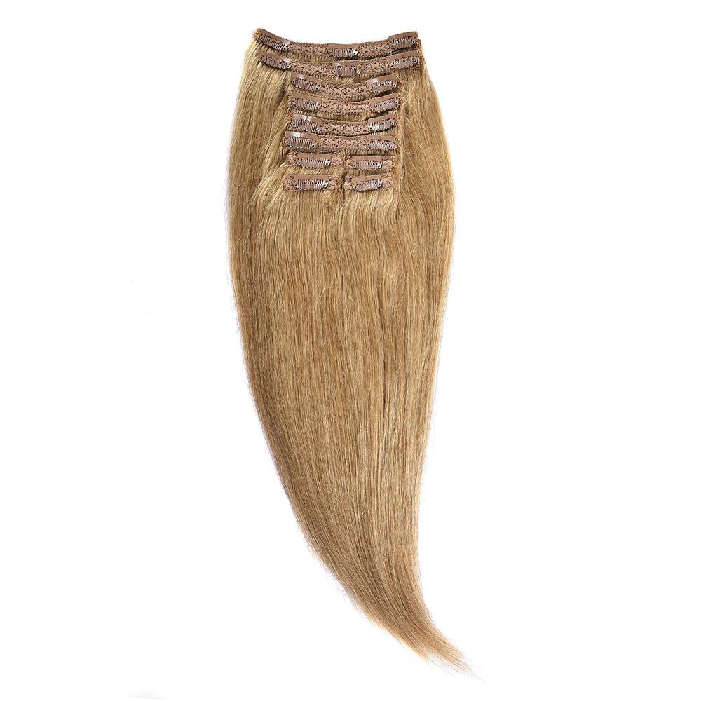 Clip-on Par Natural MegaVolum 70cm 240gr Blond Miere #27