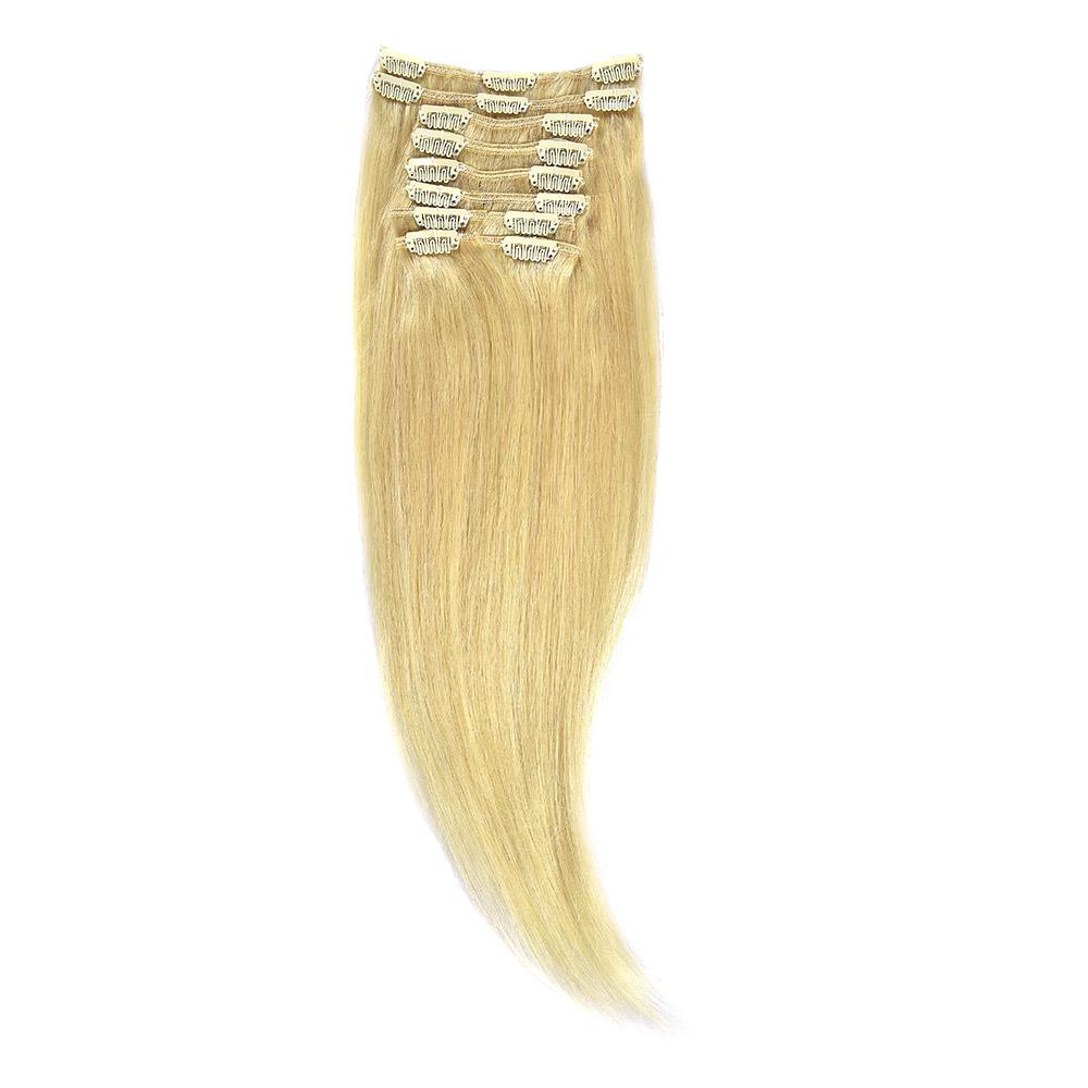 Clip-On Par Natural 70cm 100gr Blond Deschis #60