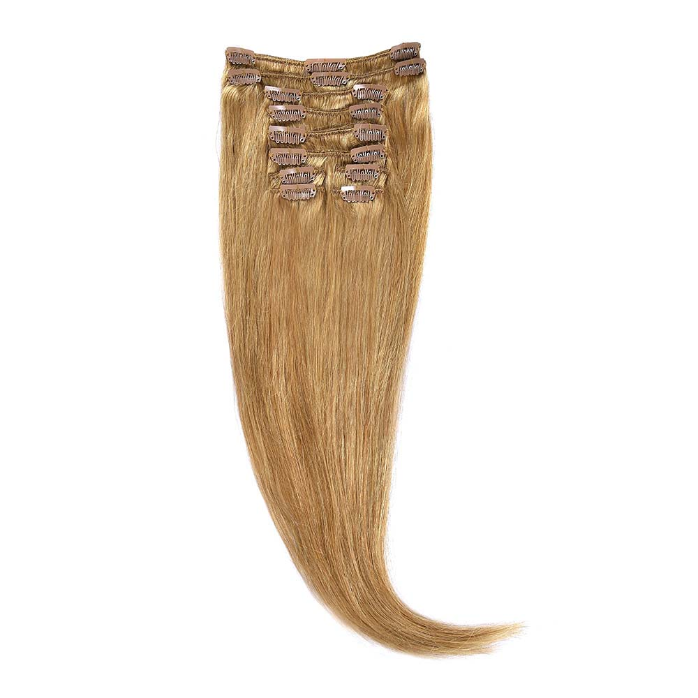 Clip-On Par Natural 70cm 100gr Blond Miere #27
