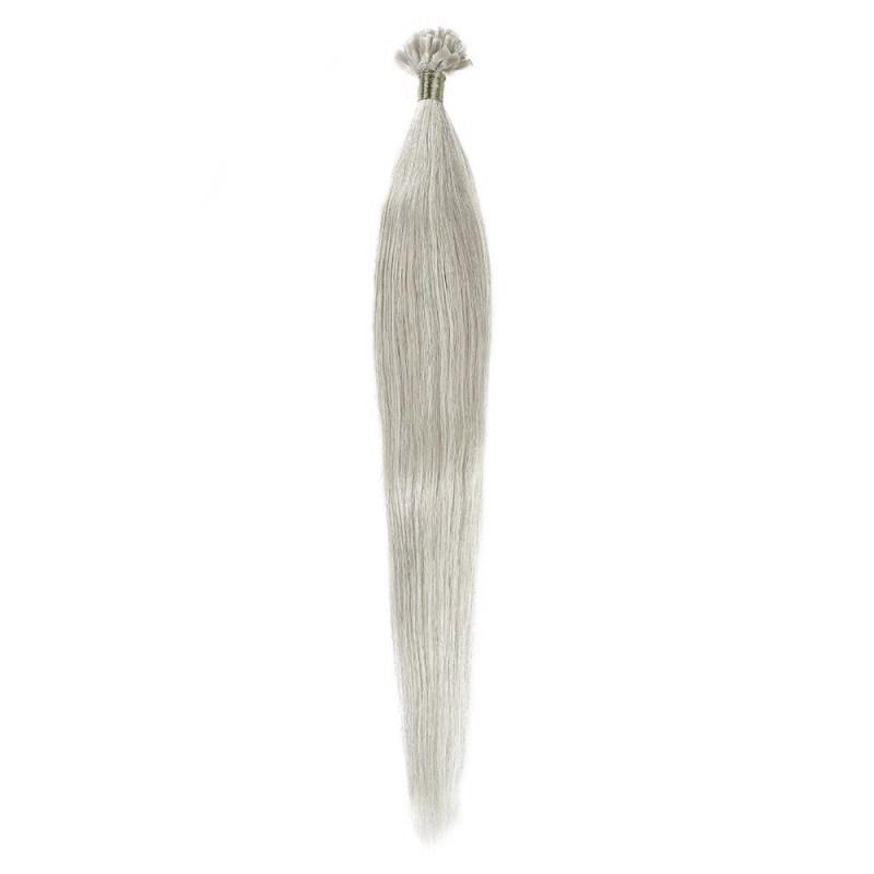 Cheratina Par Natural 50cm 50suv 1gr/suv Blond Argintiu #SILVER