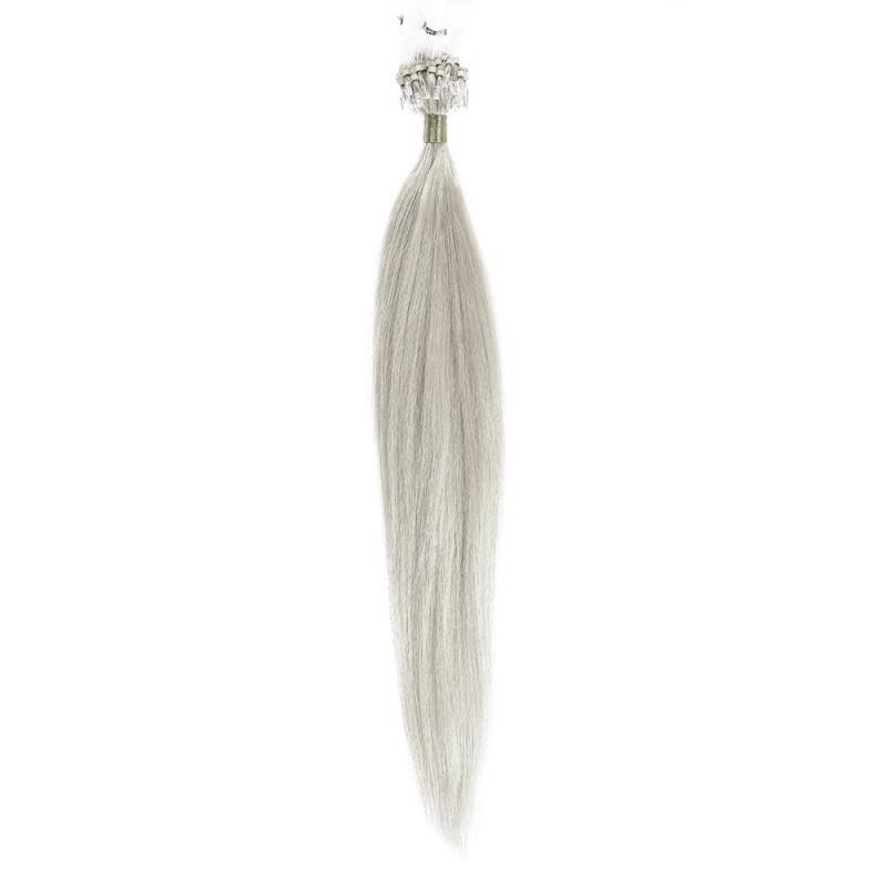 Microring Par Natural 50cm 50suv 1gr/suv Blond Argintiu #SILVER