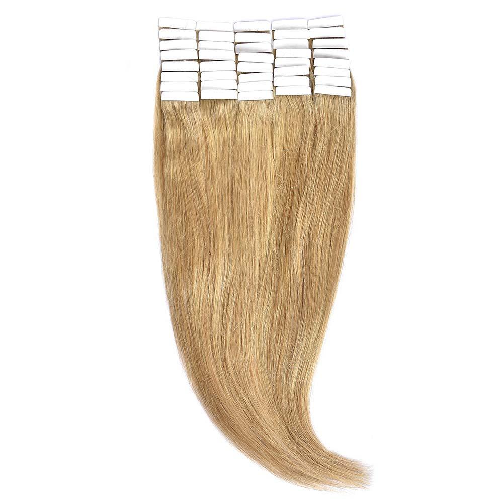 Tape-In Par Natural 60cm 40suv 100gr Blond Miere #27