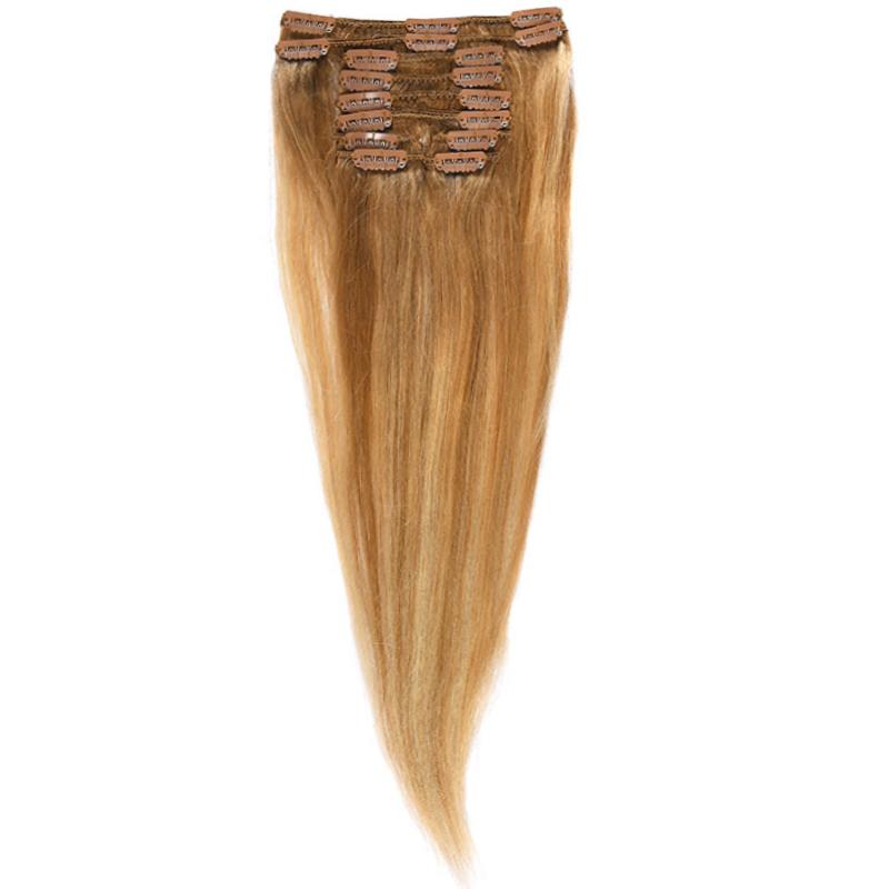 Clip-On Par Natural MegaVolum 50cm 240gr Balayage Saten Luminos/Blond Deschis/Blond Mediu 8/60/18